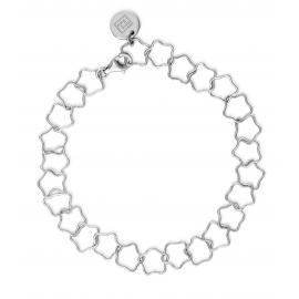 Bracelet with stars in silver