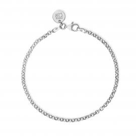 Basic bracelet midi -SIlver