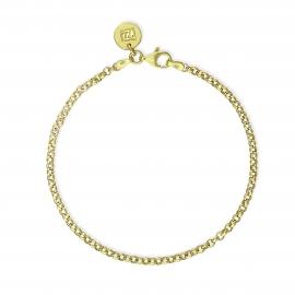 Basic Armband midi - vergoldet