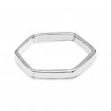 Hexagon Ring - Silber