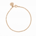 Basic bracelet mini - gold plated
