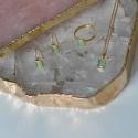 Kette mit kleinem Aqua Chalcedon - vergoldet