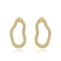 Yael Anders x Tenebris Jewelry: Statement Ohrringe - gold