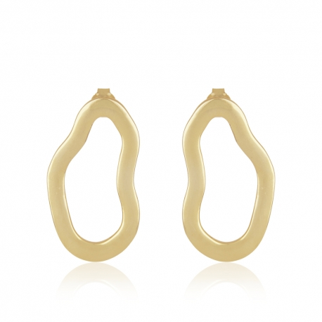Yael Anders x Tenebris Jewelry: Statement Ohrringe - gold