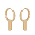 Yael Anders x Tenebris: Statement earrings - gold