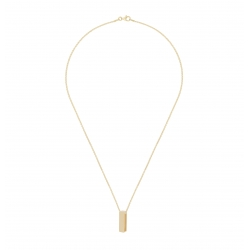 Yael Anders x Tenebris: Necklace with pendant - gold