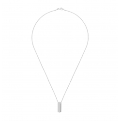Yael Anders x Tenebris: Necklace with pendant - silver