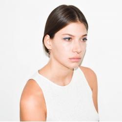 Yael Anders x Tenebris: Statement earrings - silver