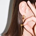 Yael Anders x Tenebris Jewelry: Kette mit Anhänger - gold