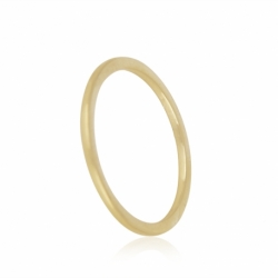 MINIMALISTISCHER, FILIGRANER RING - GOLD