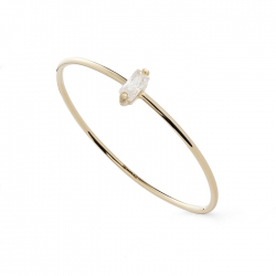FILIGREE RING WITH ZIRCONIA - GOLD