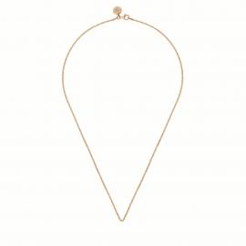Rosévergoldete Halskette - 45cm