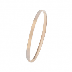 MINIMALISTIC BANGLE WITH HINGE - ROSE GOLD
