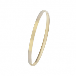 MINIMALISTIC BANGLE WITH HINGE - GOLD